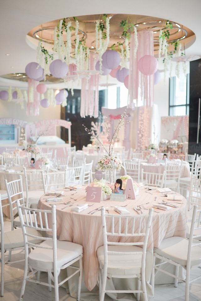 girly japanese party ceiling