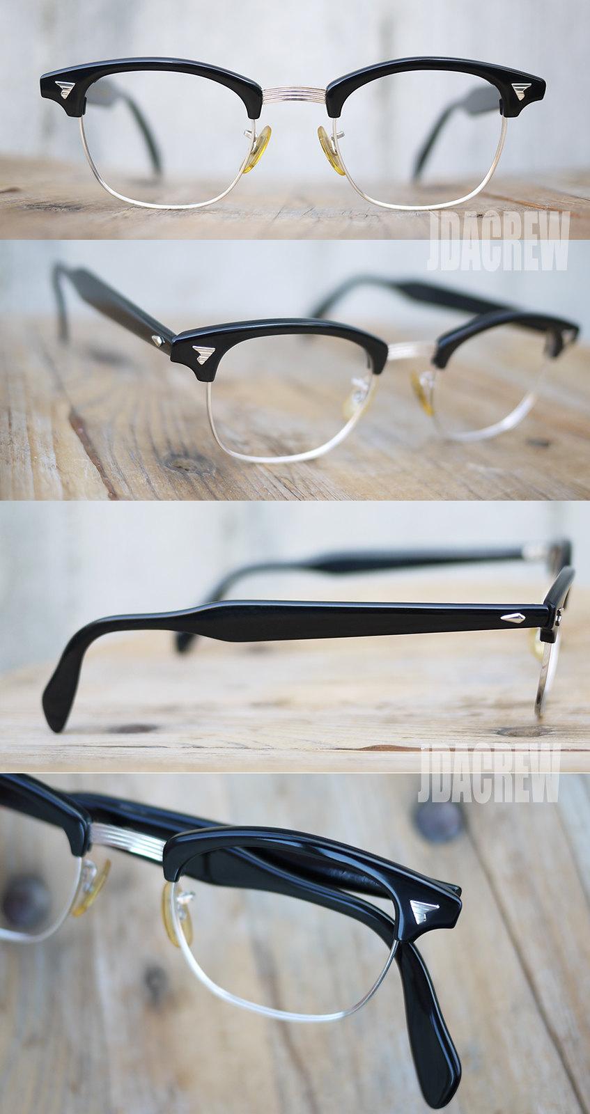 aoマルコムXアメリカンオプティカル眼鏡ビンテージ