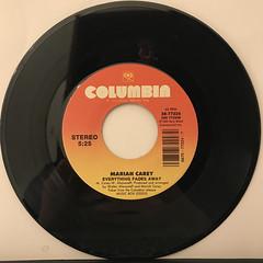 MARIAH CAREY:HERO(RECORD SIDE-B)