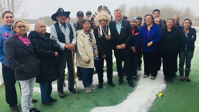 Paul First Nation goes green