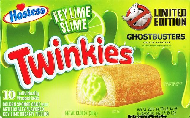 Hostess Twinkies - Ghostbusters Key Lime Slime - July 2016