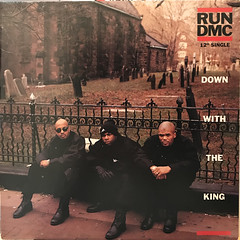 RUN DMC:DOWN WITH THE KING(JACKET A)
