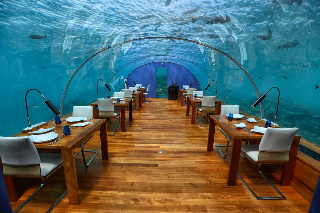 Maldives underwater restaurant 25