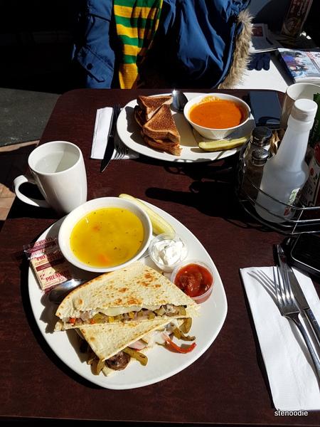 Basil's Market & Deli food