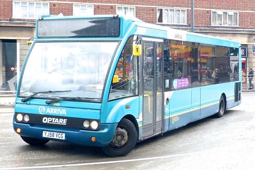YJ58 VCG 'Arriva Midlands' No. 2408 Optare Solo on 'Dennis Basford's railsroadsrunways.blogspot.co.uk'