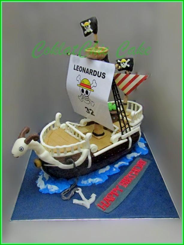 Cake One Piece Going Merry LEONARDUS 20 cm