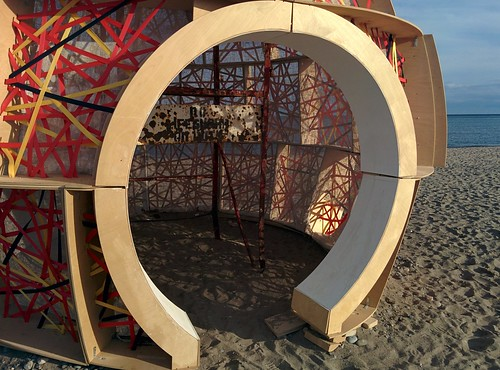 Nest (3) #toronto #winterstations #beaches #woodbinebeach #nest #publicart #latergram
