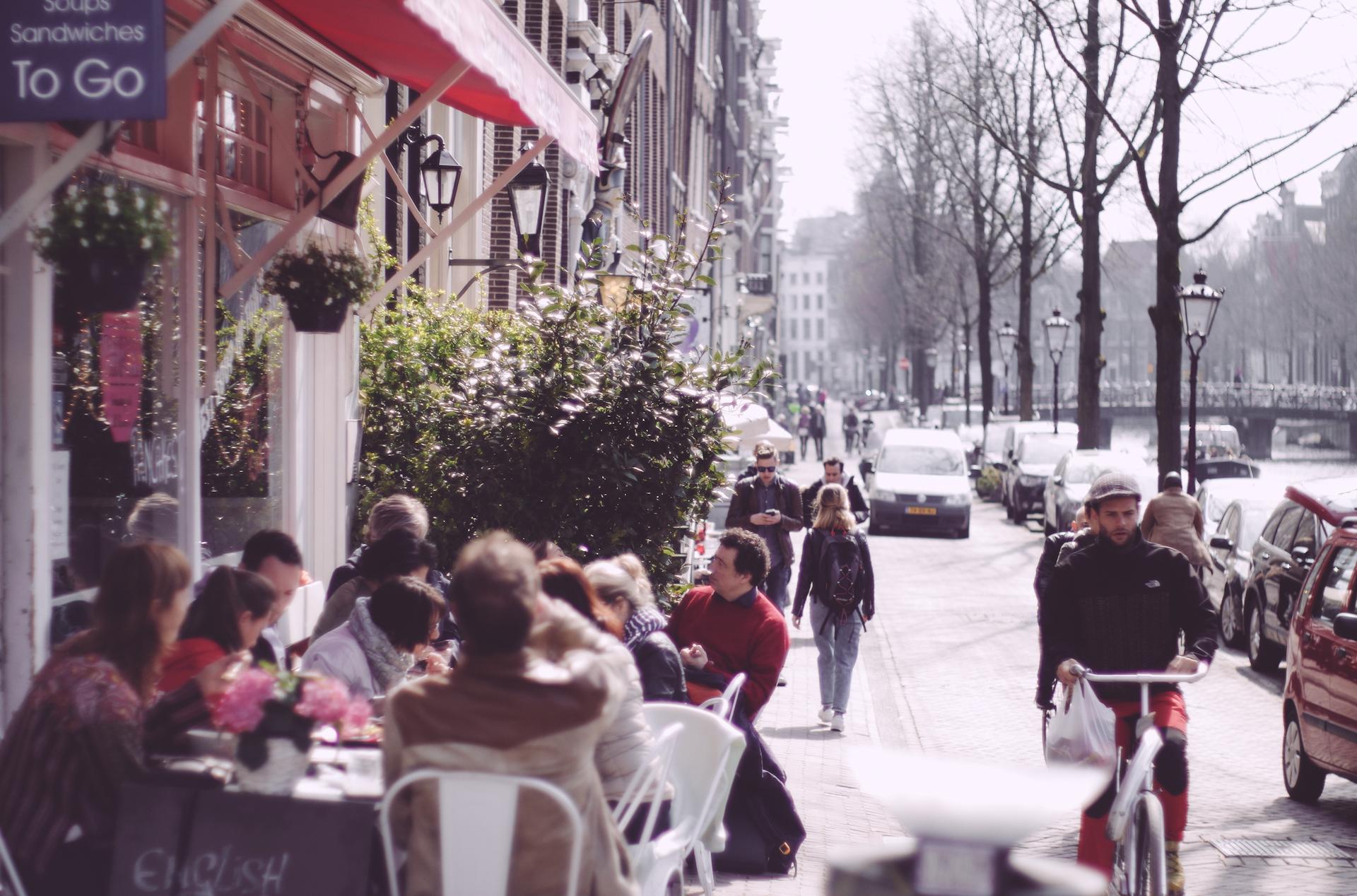 Amsterdam, Pink
