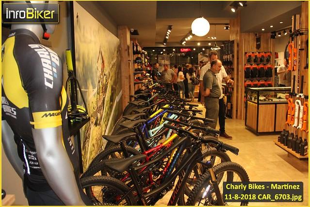 Apertura Charly Bikes Martínez