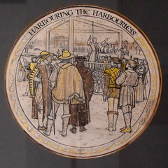 cartoon: harbouring the harbourless (Margaret Agnes Rope, for the enclosure at Tyburn, London)