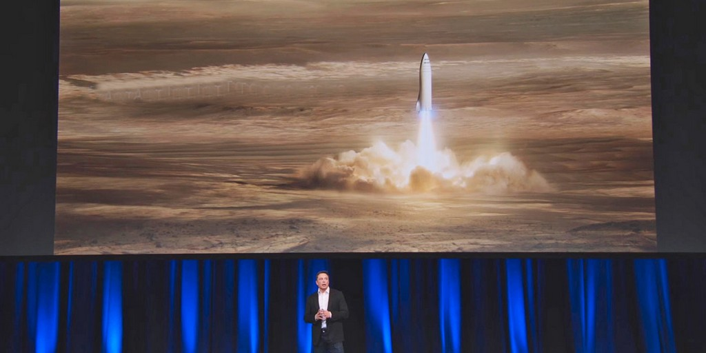 SpaceX construira sa fusée interplanétaire massive à Los Angeles