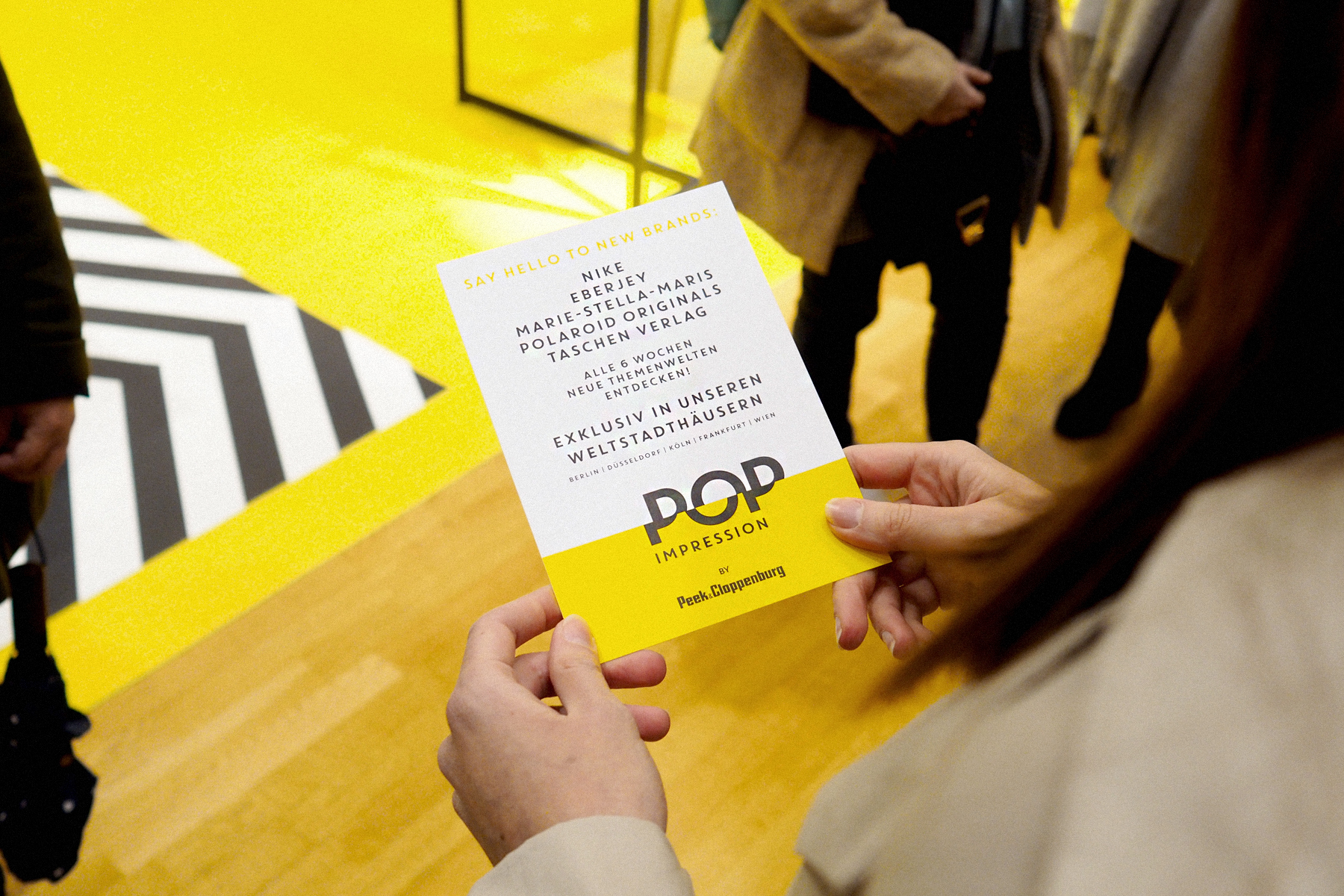POP IMPRESSION by P&C Düsseldorf launch opening event polaroid originals eberjey marie-stella-maris taschen verlag nike popupstore popup peek&cloppenburg catsanddogsblog ricarda schernus modeblog fashionblogger dus nrw 8