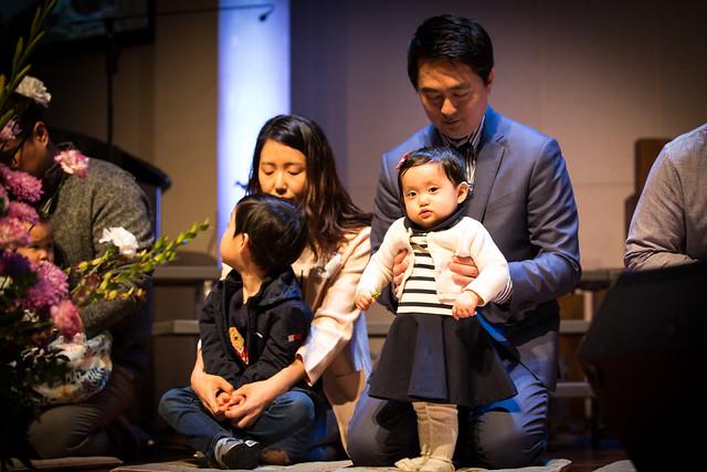 부활절 유아세례(3부)