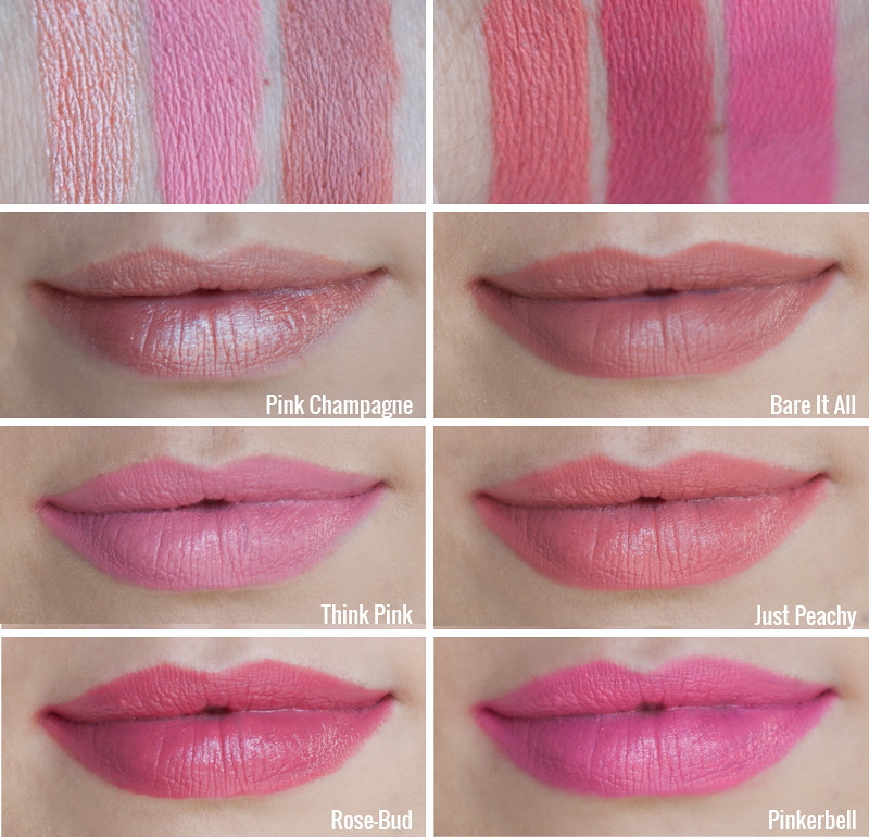 stylelab wet n wild lipstick swatches