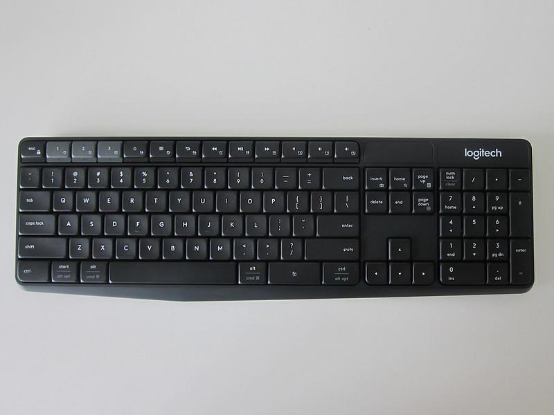 Logitech K375s Multi-Device Wireless Keyboard - Top