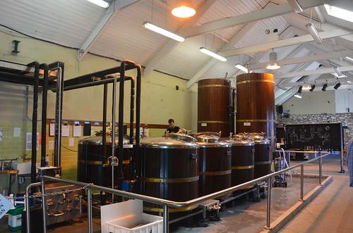 Die Gärtanks der Dingle Brauerei