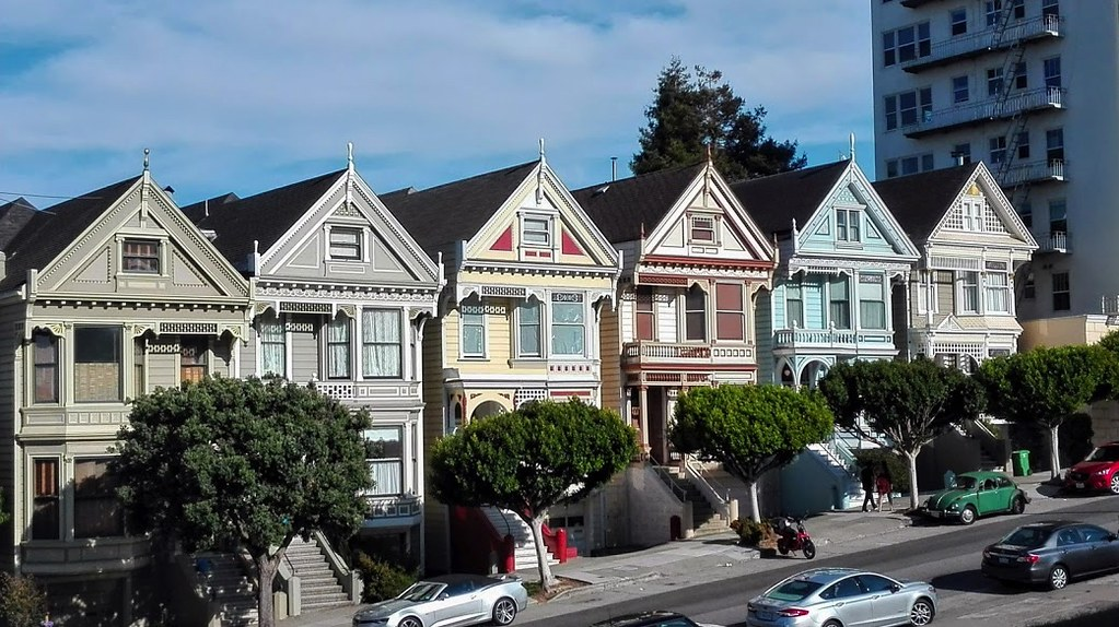 Painted Ladies, San Francisco - Cardamomo & co