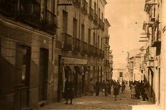 Ávila. Calle Vallespín, c. 1946. Foto anónima. Archivo Jose Luis Pajares.