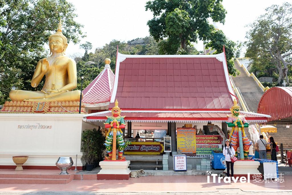 华欣景点推荐 考佬寺Wat Khao Takiap (5)