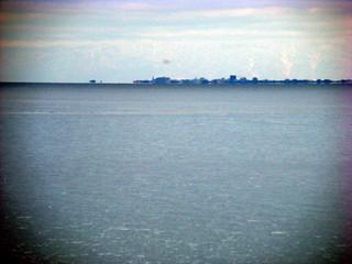 Вид на итальянский берег