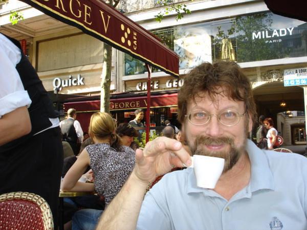 Chuck Stewart in Paris