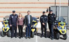 3 nuevas motos Policía local Alcalá de Henares
