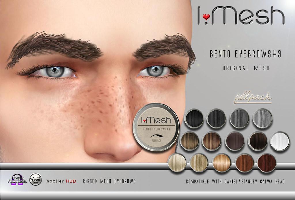 BENTO Eyebrows#3 - TeleportHub.com Live!