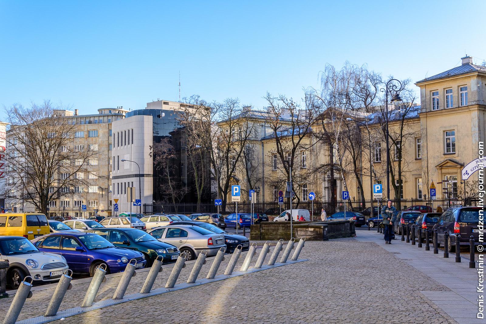 Варшава. Королевский Тракт, ул. ул. Oboźna.