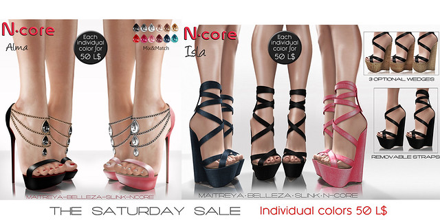 "N-core ""The Saturday SALE"" (March 17)"