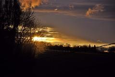 Lumière du coucher de soleil. (1)