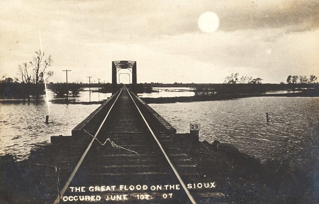 The Great Flood on the Sioux June 10, 1907 - South Dakota