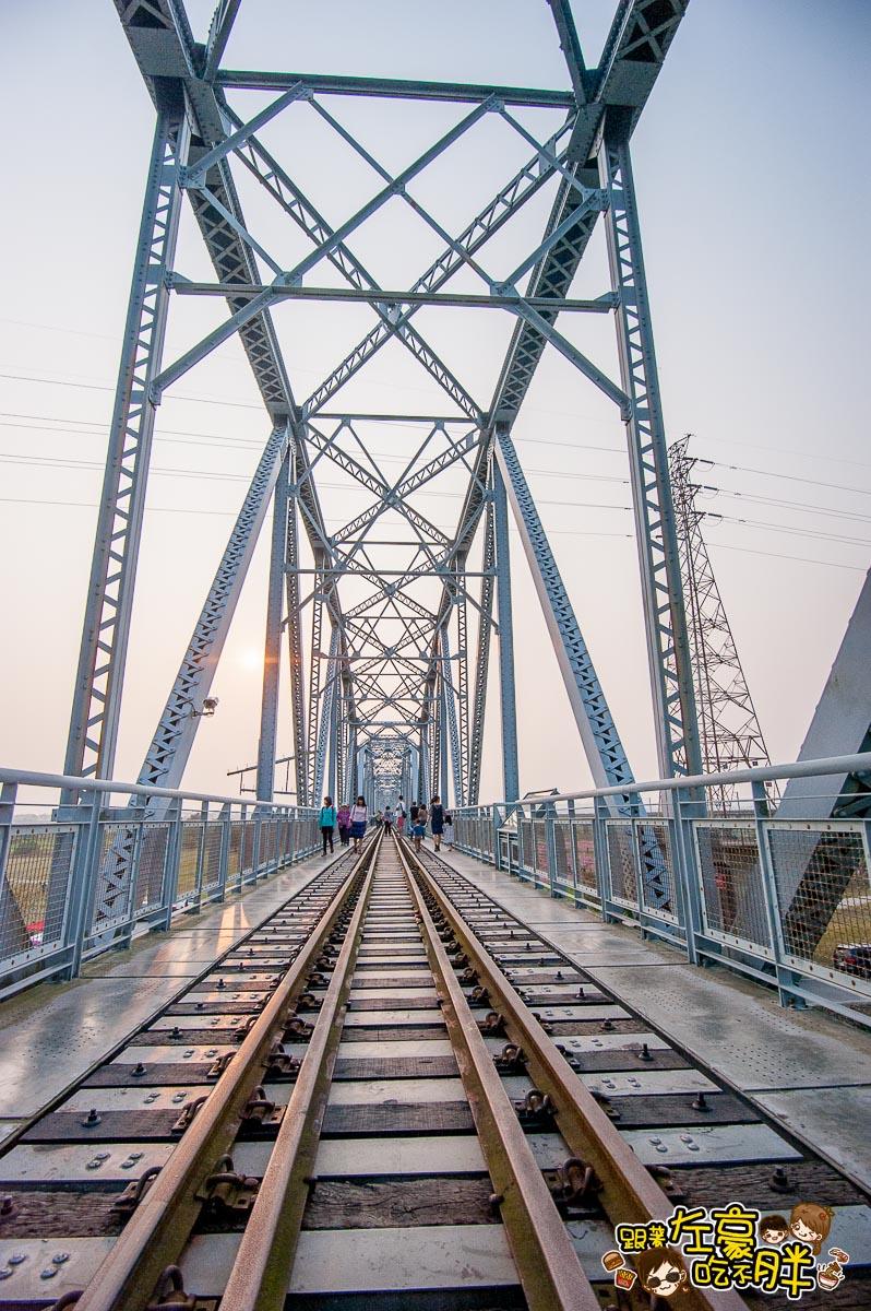 舊鐵橋(屏東端)花海-37