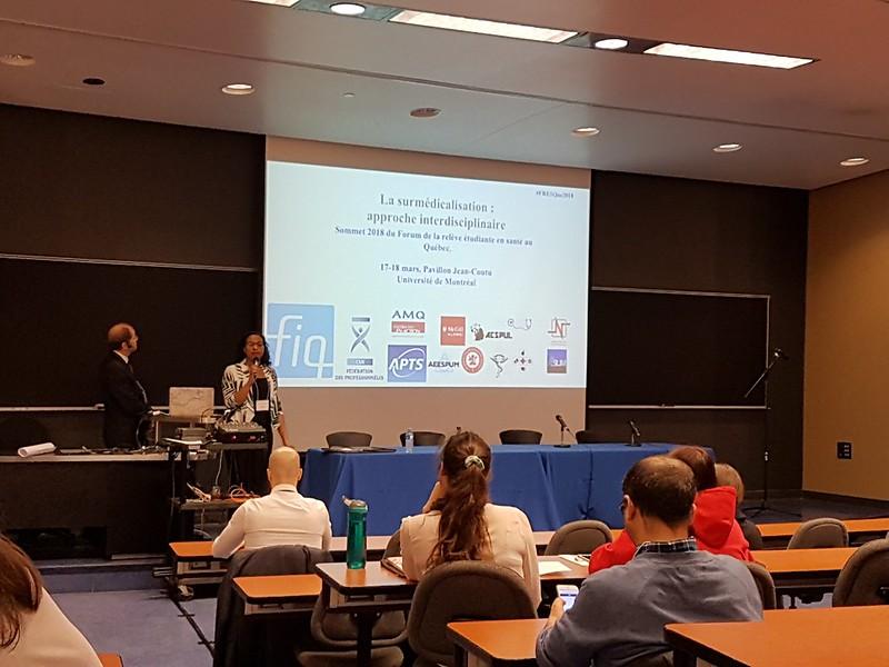 2018-03-17 - Forum de la relève étudiante pour la santé au Québec