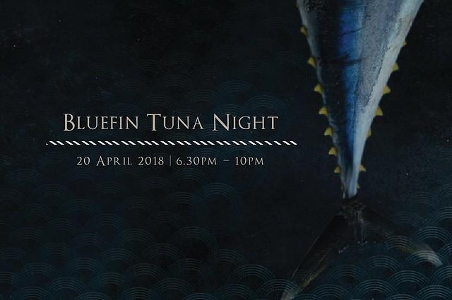 Element Restaurant - Bluefin Tuna Night 2018 Poster