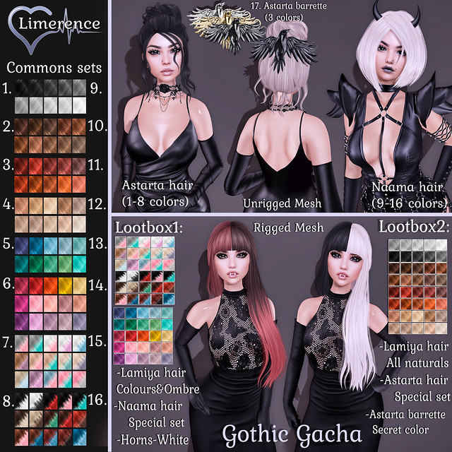 {Limerence} Gothic gacha special for Lootbox