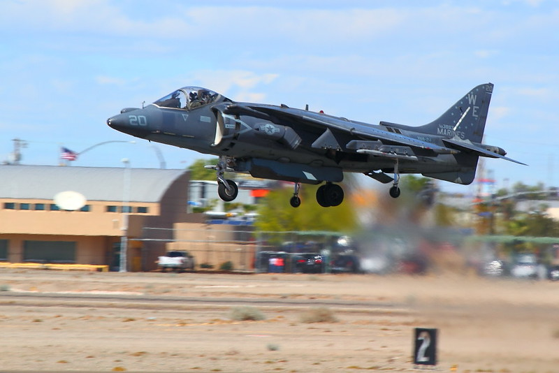 IMG_3552 AV-8B Harrier II, MCAS Yuma Air Show