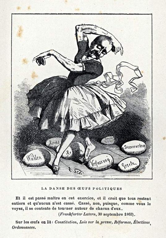 Bismarck egg dance