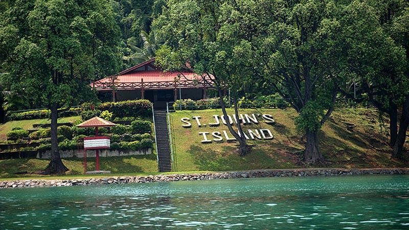 St John's Island Singapura.
