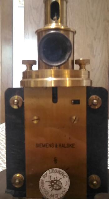 Galvanometro D'Arsonval - Siemens Halske - firma