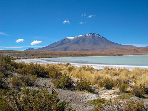 berg desert lagunahedionda mountain uyuni volcan volcano vulkaan departamentodepotosí bolivia bo
