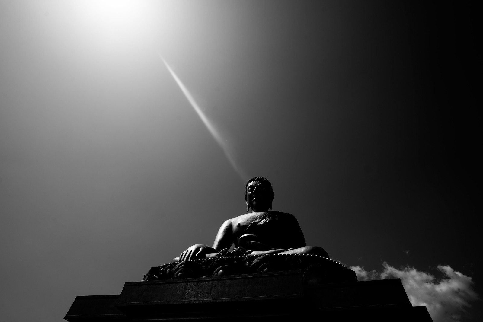 The enlightened Buddha