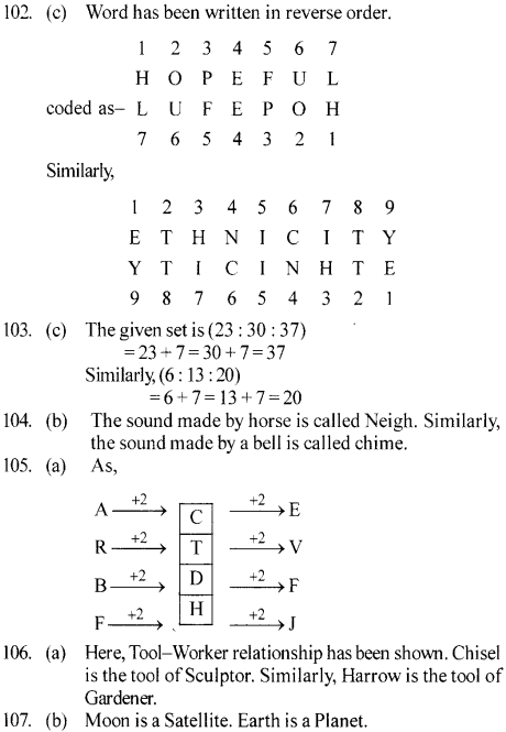 ssc-reasoning-solved-papers-analogy - 22