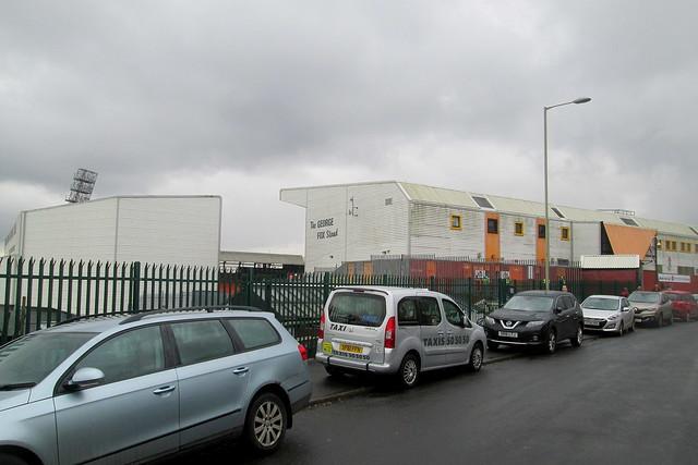 Tannadice Park, Dundee, George Fox Stand