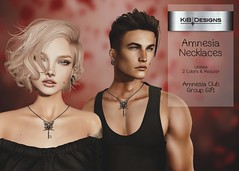 KiB Designs - Amnesia Necklaces - Unisex - Group Gift in Amnesia Club