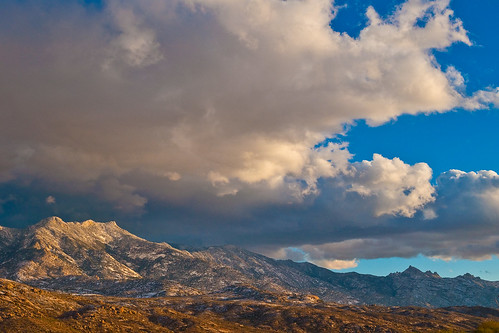 mountains arizona mtlemmon desert clouds snow