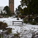 Snowy Cabot Tower
