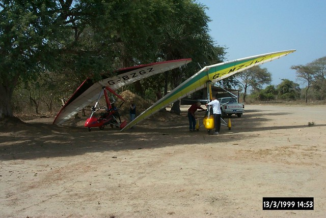 Adventurous Flying in Africa 9