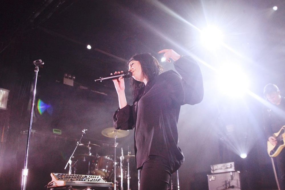 K Flay and Yungblud at Irving Plaza