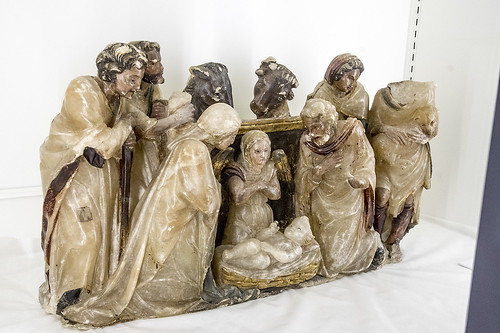 Monasterio de Sijena, fragmento del Retablo de Jesús