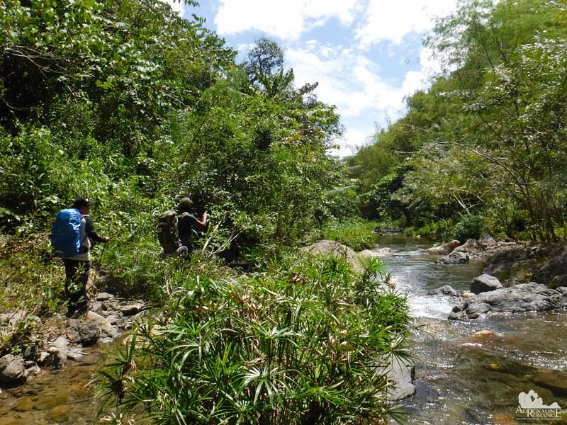 Arrival at Biasong River